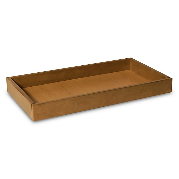 Alternate image 1 for DaVinci Universal Changing Tray in Chestnut