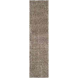 Safavieh Milan Shag 2-Foot x 14-Foot Sienna Rug in Grey