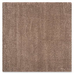 Safavieh California Shag 6-Foot 7-Inch x 6-Foot 7-Inch Irvine Rug in Taupe