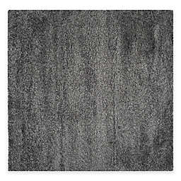 Safavieh California Shag 6-Foot 7-Inch x 6-Foot 7-Inch Irvine Rug in Dark Grey