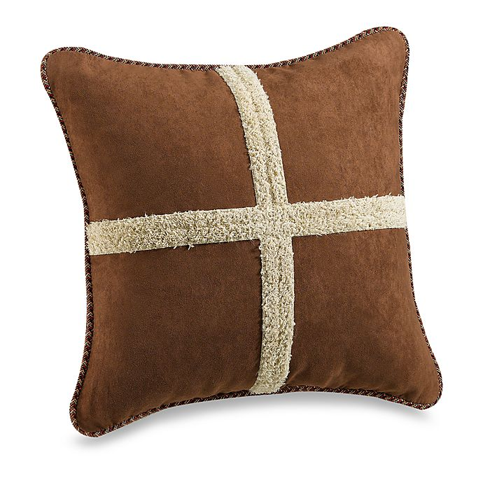 Alternate image 1 for Croscill® Caribou 18-Inch Square Throw Pillow