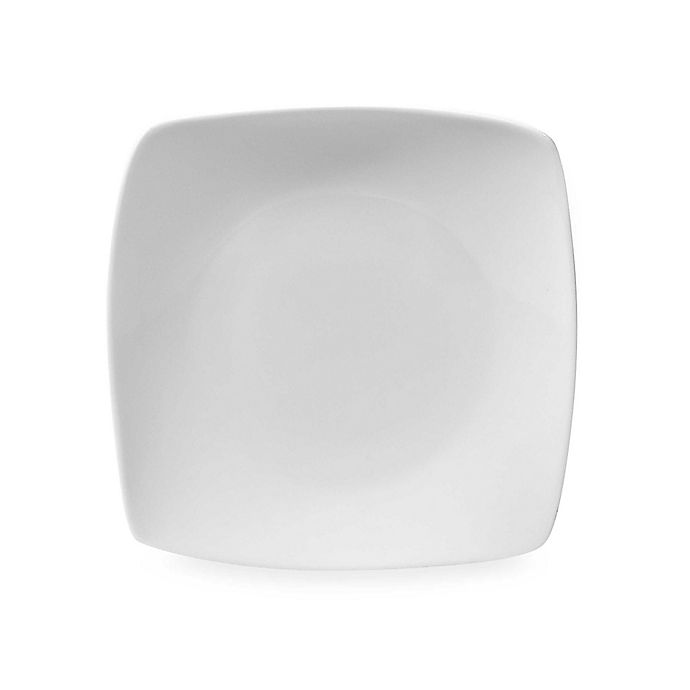 Alternate image 1 for Everyday White® Cordon Bleu Square White 7-1/2-Inch Salad Plate