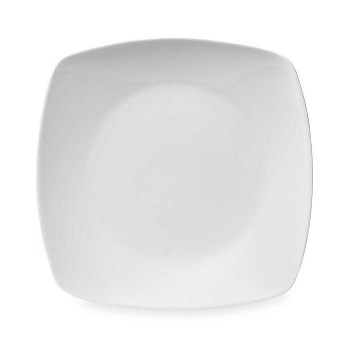 Alternate image 1 for Everyday White® Cordon Bleu Square White 10-Inch Dinner Plate