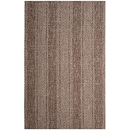 Safavieh Courtyard 8-Foot x 11-Foot Tori Indoor/Outdoor Rug in Light Beige/Light Brown