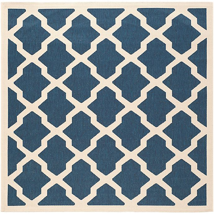 Alternate image 1 for Safavieh Courtyard Evie Indoor/Outdoor Rug