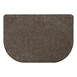 Home Dynamix Gentle Step 20-Inch x 30-Inch Embossed Scroll Mat