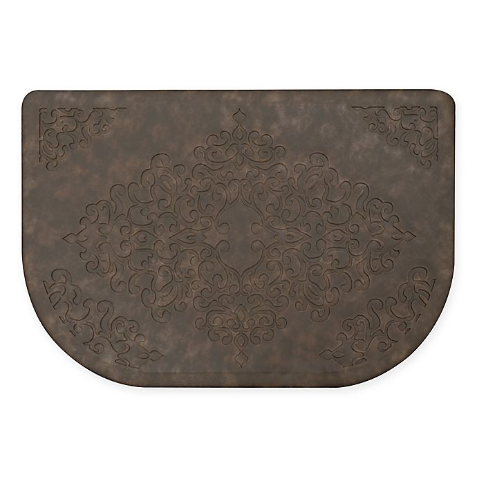 Alternate image 1 for Home Dynamix Gentle Step 20-Inch x 30-Inch Embossed Scroll Mat