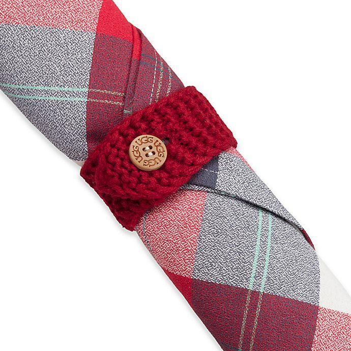 Alternate image 1 for UGG® Knit Napkin Rings (Set of 4)