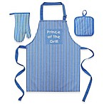 Prince Of The Grill  Kid's 3-Piece Apron Set