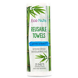 Eco Nuts® 25-Pack Reusable Paper Towels