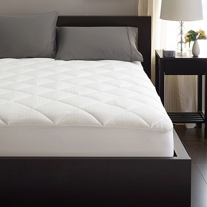 Alternate image 1 for SHEEX® 37.5® Performance Mattress Pad in White