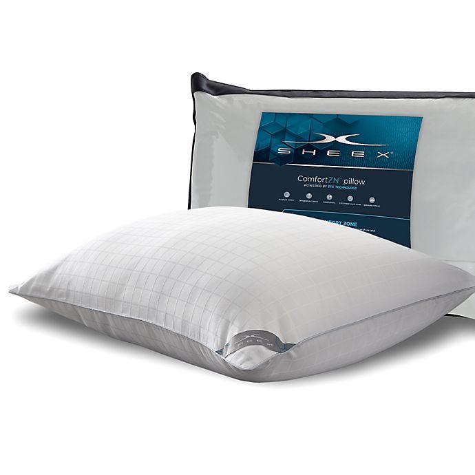 Alternate image 1 for SHEEX® 37.5® Back/Stomach Sleeper King Pillow in White