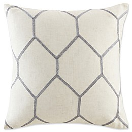 Madison Park Brooklyn Metallic Square Throw Pillows (Set of 2)
