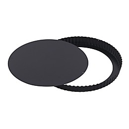 Paderno World Cuisine Fluted Tart Pan in Black