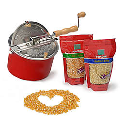 Wabash Valley Farms™ Whirley Popcorn Popcorn Lovin' Holiday Gift Set in Red
