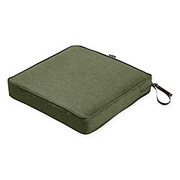 Classic Accessories® Montlake™ FadeSafe 17-Inch x 17-Inch Outdoor Dining Seat Cushion