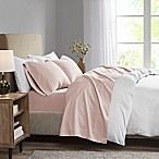 Madison Park 3M Microcell Twin Sheet Set in Blush