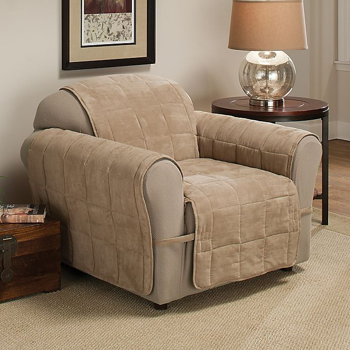 Ultimate Faux Suede Chair Protector Bed Bath amp Beyond