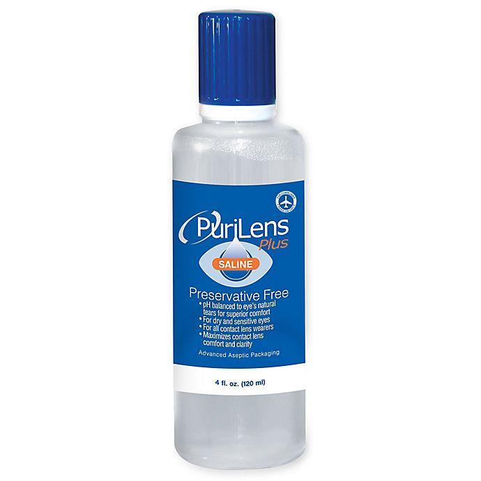 PuriLens™ Plus 3-Pack 4 fl.oz. Preservative Free Saline Solution | Bed Bath & Beyond