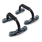 ProForm® Contoured Push-Up Stands in Black (Set of 2)