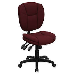 Flash Furniture 35-Inch - 41-Inch Office Chair in Burgundy