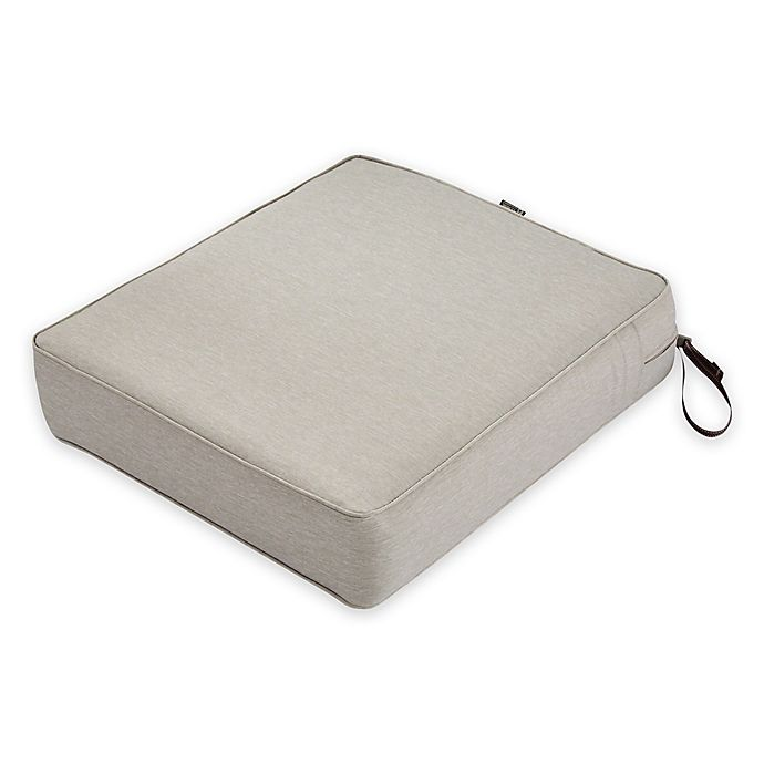 Alternate image 1 for Classic Accessories® Montlake™ FadeSafe 27-Inch x 25-Inch Lounge Seat Cushion in Grey