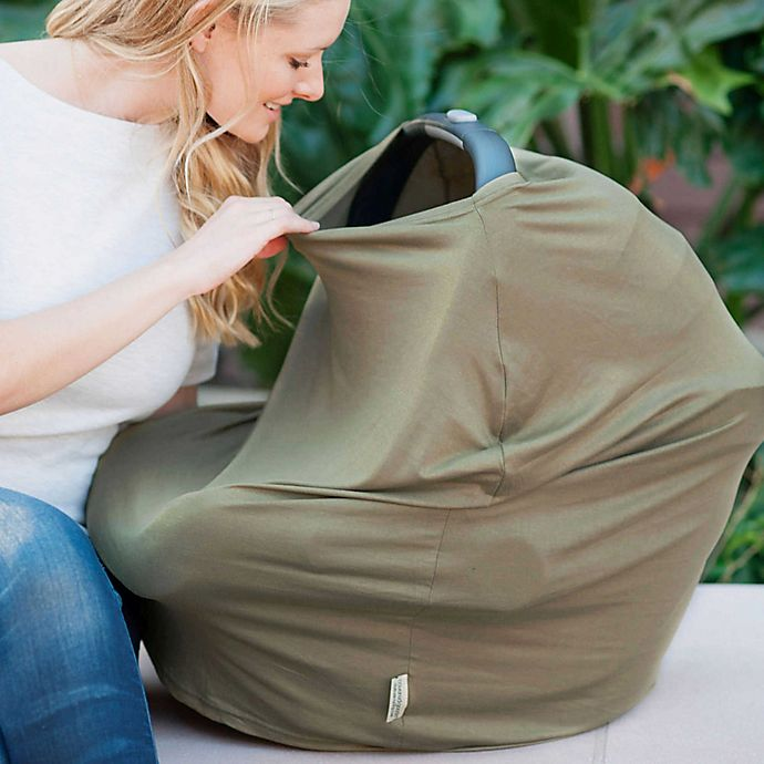 Alternate image 1 for Covered Goods™ 4-in-1 Multi-Use Cover in Army Green