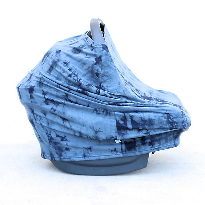 Alternate image 1 for Covered Goods™ 4-in-1 Multi-Use Cover in Ocean Tie Dye