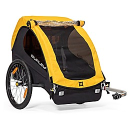 Burley Bee Bike Trailer in Yellow