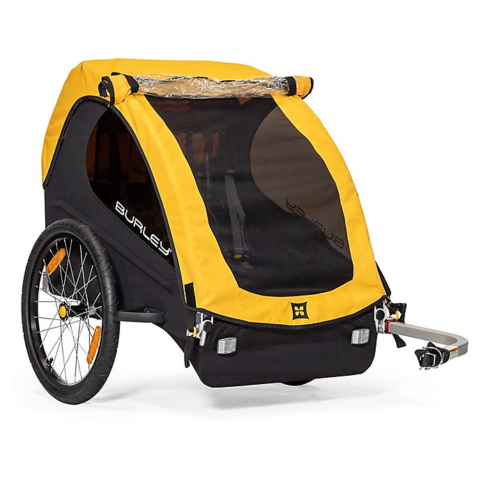 Alternate image 1 for Burley Bee Bike Trailer in Yellow