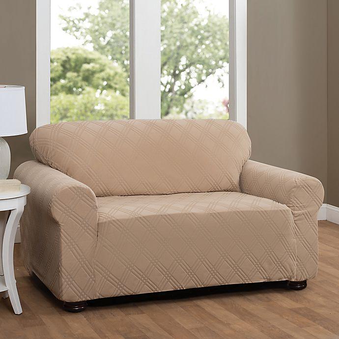 Double Diamond Sofa Stretch Slipcover