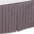 Wamsutta® 500-Thread-Count PimaCott® Damask King Bed Skirt in Grey