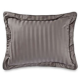 Wamsutta® 500-Thread-Count PimaCott® Damask Standard Pillow Sham in Grey