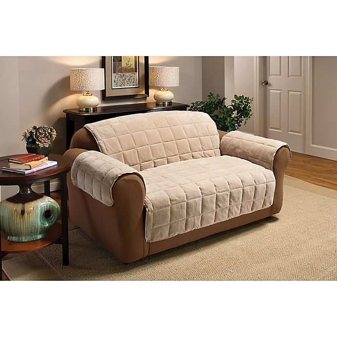 Astonishing Plush Xl Sofa Protector Bed Bath Beyond Gmtry Best Dining Table And Chair Ideas Images Gmtryco