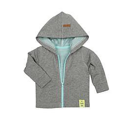 Robeez® Knit Zip-Up Hoodie in Grey