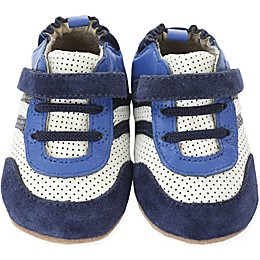 Robeez® Everyday Ethan Mini Shoez in Navy