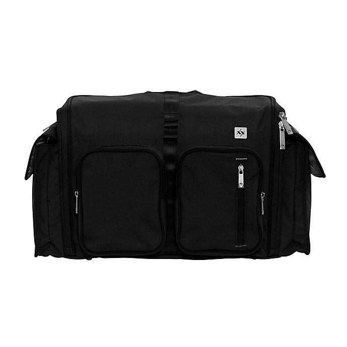 Alternate image 1 for XY by Ju-Ju-Be® Clone Diaper Bag in Black