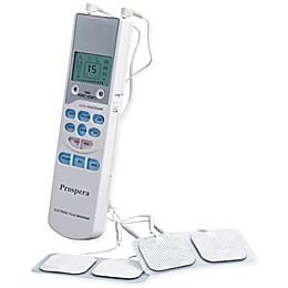 Prospera TENS Electronic Pulse Massager in White