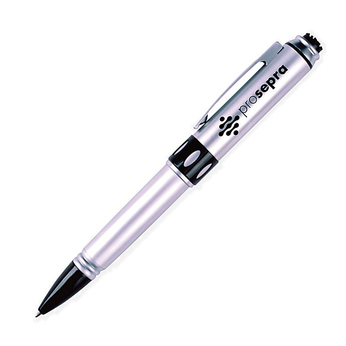 Alternate image 1 for Prospera Ball Point Massage Pen in Silver