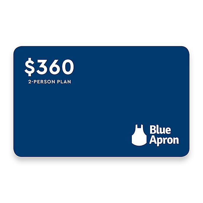 Discover Dinner with Blue Apron: 2-Person Plan, $360 Meal