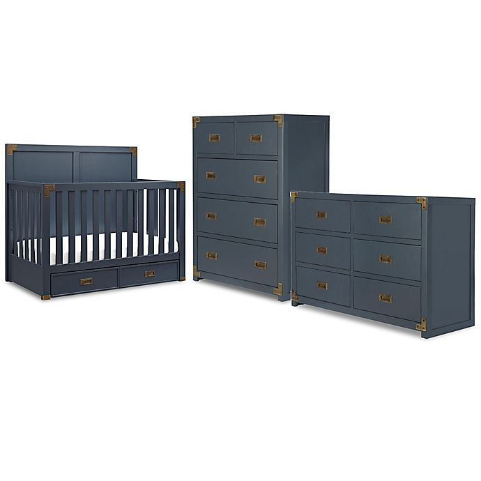Alternate image 1 for Bertini® Wyatt Nursery Furniture Collection in Graphite Blue