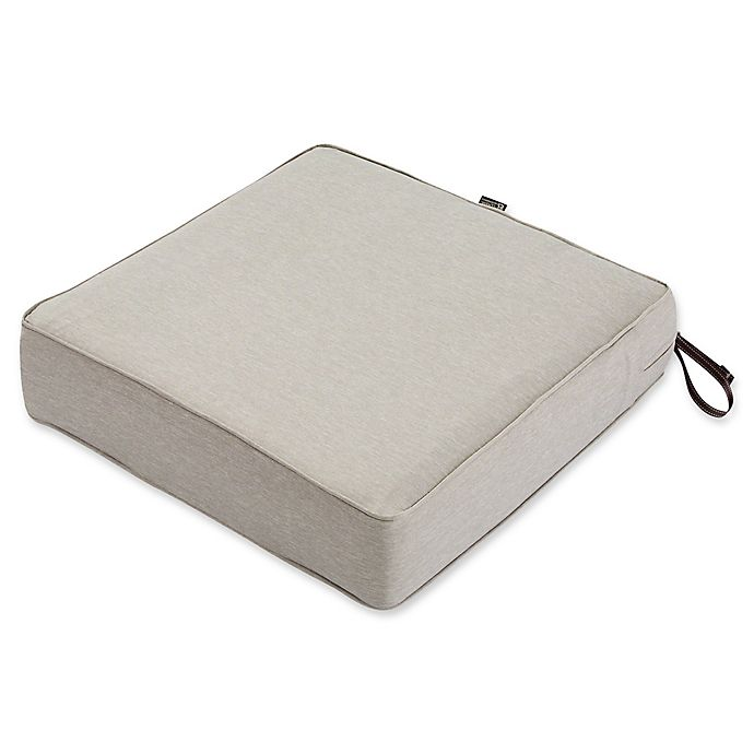 Alternate image 1 for Classic Accessories® Montlake™ FadeSafe 23-Inch x 23-Inch Lounge Seat Cushion in Grey