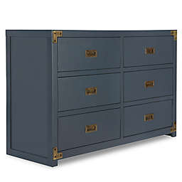 Bertini® Wyatt 6-Drawer Dresser in Graphite Blue