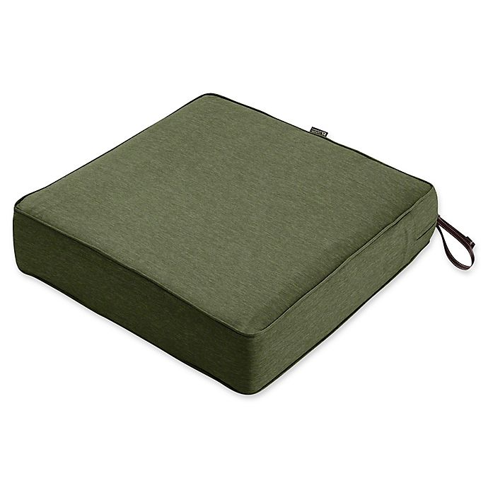 Alternate image 1 for Classic Accessories® Montlake™ FadeSafe 25-Inch x 25- Inch Outdoor Lounge Seat Cushion