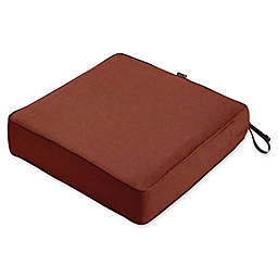 Classic Accessories® Montlake™ FadeSafe 25-Inch x 25- Inch Lounge Seat Cushion in Red
