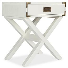 Bertini® Wyatt Nightstand in Classic White