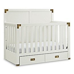 Bertini® Wyatt 4-in-1 Convertible Crib in Classic White
