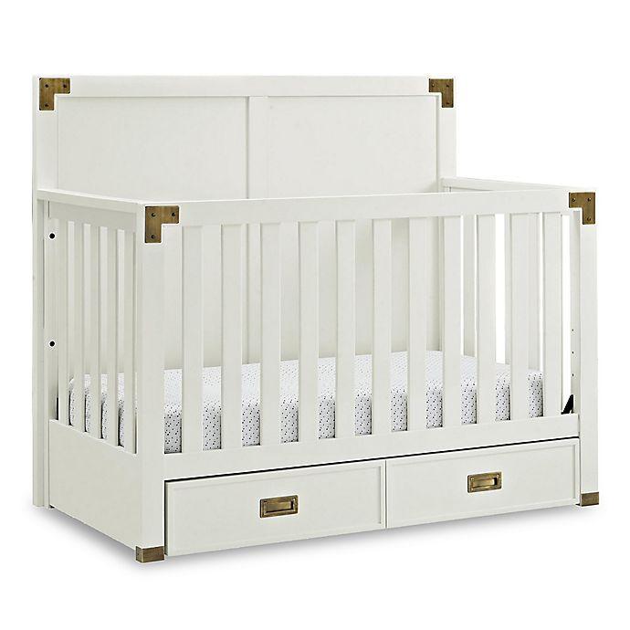 Alternate image 1 for Bertini® Wyatt 4-in-1 Convertible Crib in Classic White