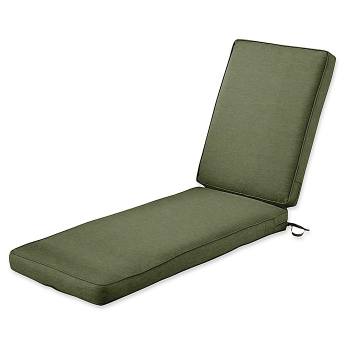 Alternate image 1 for Classic Accessories® Montlake™ FadeSafe 72-Inch x 21-Inch Chaise Cushion