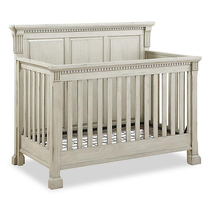 Alternate image 1 for Bertini® Everett 4-in-1 Convertible Crib in Antique Grey